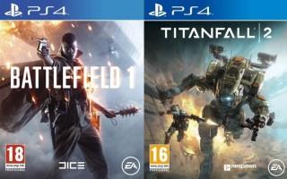 Battlefield 1 + Titanfall 2 (PS4)