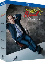 Better Call Saul saisons 1 à 4 (blu-ray)