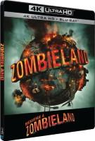 Bienvenue à Zombieland édition steelbook (blu-ray 4K)