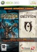 Pack 2 jeux: Bioshock + The elder scrolls IV : oblivion (xbox 360)