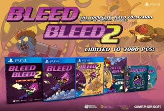 Bleed + Bleed 2 édition limitée (PS4)