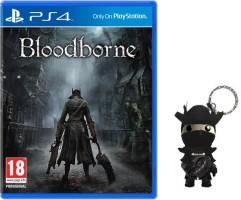 Bloodborne (PS4) + porte-clés Sackboy