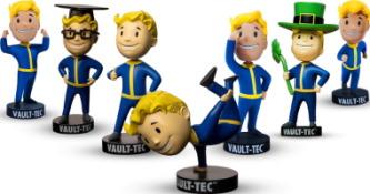 Série de 7 Bobblehead Fallout Vault Boy S.P.E.C.I.A.L.