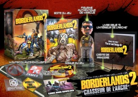 Borderlands 2 édition collector chasseur de l'Arche
