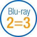 Opération 2 blu-ray achetés = le 3e offert