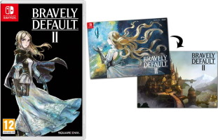 Bravely Default II (Switch) + poster offert