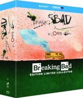 Intégrale Breaking Bad édition limitée Ralph Steadman (blu-ray)