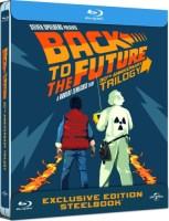 "Trilogie ""Retour vers le futur"" édition steelbook (blu-ray)"
