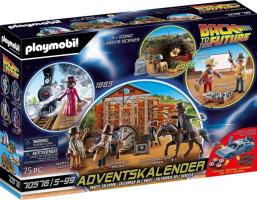Calendrier de l'avent Playmobil Retour vers le futur 2021