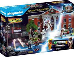 Calendrier de l'avent Playmobil Retour vers le futur
