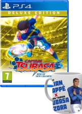 Captain Tsubasa: Rise of New Champions édition Deluxe (PS4) + mug Mbappé