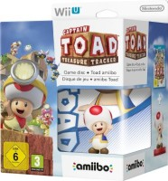 Captain Toad Treasure Tracker édition limitée avec amiibo Toad (Wii U)