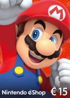 Carte Nintendo eShop de 15€