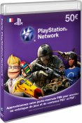 Carte Playstation LiveCard 50€