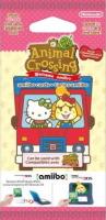 Paquet de cartes amiibo Animal Crossing série Sanrio