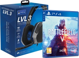 Battlefield V (PS4) + Casque PDP Afterglow LVL 3