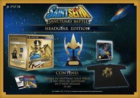 Saint Seiya : les Chevaliers du Zodiaque la bataille du sanctuaire édition headgear (PS3)