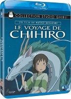 Le voyage de Chihiro (blu-ray)