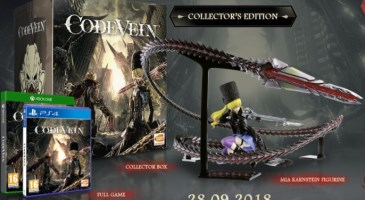 Code Vein édition collector (PS4, Xbox One)
