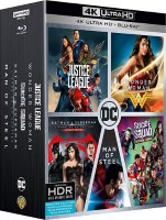 "Coffret ""DC Comics"" (blu-ray 4K)"