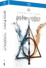 L'intégrale du monde des sorciers : Harry Potter & Animaux fantastiques (blu-ray)