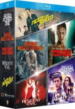 """Coffret """"5 films issus de jeux vidéo"""" (blu-ray)"""