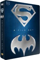 Coffret métal 9 films Batman / Superman (blu-ray)