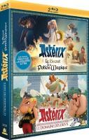 """Coffret Astérix : """"Le domaine des Dieux"""" et """"Le secret de la potion magique"""" (blu-ray)"""