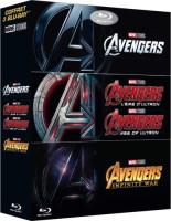 Coffret Avengers (blu-ray)