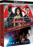 Coffret Batman v Superman / Man of Steel (blu-ray + blu-ray 3D)