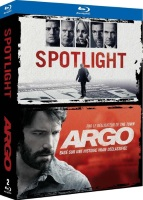 Coffret Ben Affleck : Spotlight + Argo (blu-ray)