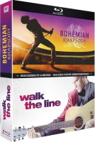 "Coffret ""Bohemian Rhapsody + Walk the Line"" (blu-ray)"