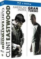 Coffret Clint Eastwood : American Sniper + Gran Torino (blu-ray)