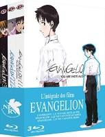 Coffret Evangelion 3 films (blu-ray)