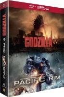 "Coffret ""Godzilla + Pacific Rim"" (blu-ray)"