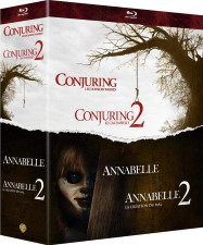 The Conjuring 1 & 2 + Annabelle 1 & 2 (blu-ray)