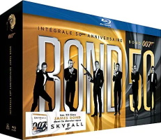 "Coffret 50e anniversaire ""James Bond"" (blu-ray)"