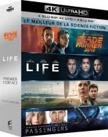 """Coffret """"Le meilleur de la science-fiction"""" (blu-ray 4K)"""