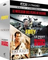 """Coffret """"Le meilleur des films de guerre"""" (blu-ray 4K)"""