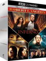 "Coffret ""Robert Langdon"" (blu-ray 4K)"