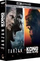 Coffret Kong : Skull Island + Tarzan (blu-ray 4K + blu-ray)