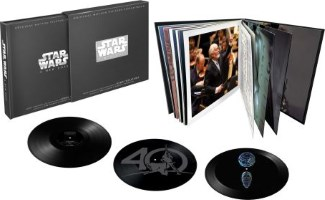 "Coffret triple vinyle Star édition collector ""Star Wars Episode IV : A New Hope 40th Anniversary"""