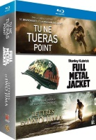 "Coffret ""Tu ne tueras point + Full Metal Jacket + Lettres d'Iwo Jima"""
