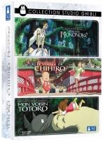 Coffret 3 films Ghibli en blu-ray