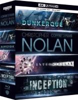 Coffret 3 Films de Christopher Nolan (blu-ray 4K + blu-ray)
