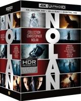 Coffret 7 Films de Christopher Nolan (blu-ray 4K)