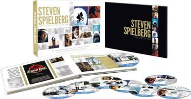 Coffret Steven Spielberg 8 films (blu-ray)
