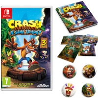Crash Bandicoot N'Sane Trilogy (Switch) + goodies