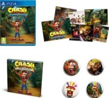 Crash Bandicoot N'Sane Trilogy + artbook + lithographies + badges (PS4)