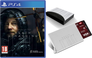 Death Stranding (PS4) + porte-carte offert